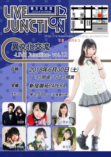 異文化交流-LIVE Junction vol.12