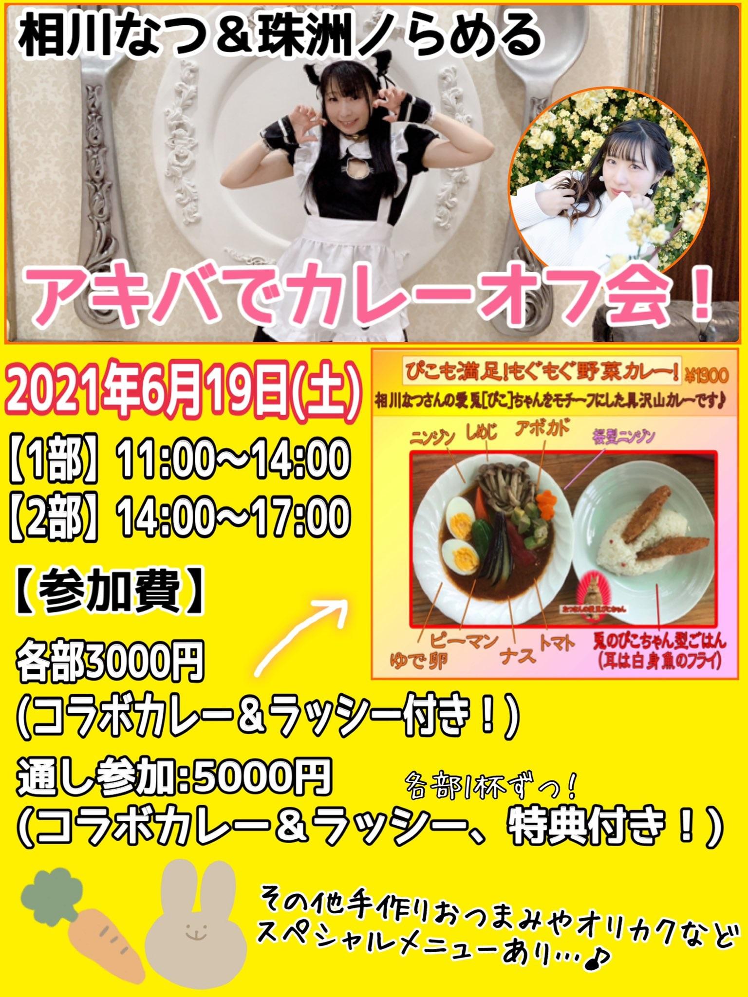 6月19日(土) アキバでカレーオフ会!を開催します!!!